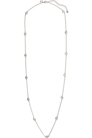 Kenneth Jay Lane Woman Rose -plated Crystal Necklace Rose Size