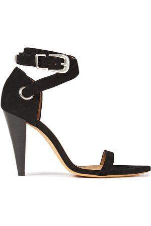 IRO Woman Noussa Suede Sandals Size 36