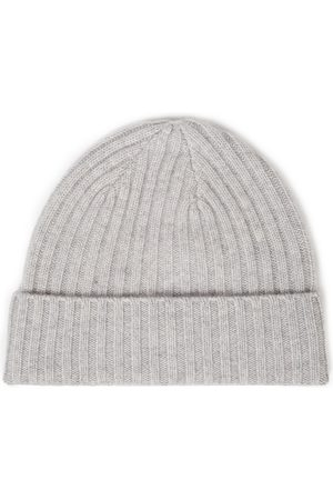 N.PEAL Woman Ribbed Cashmere Beanie Light Size ONESIZE