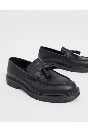 Selected Loafers - Leather tassel loafer in