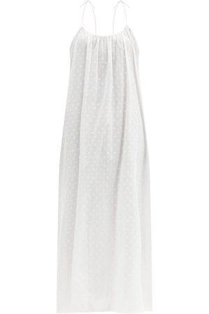 Loup Charmant Swiss Dot Cotton Maxi Dress - Womens