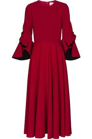 Roksanda Caden crêpe midi dress