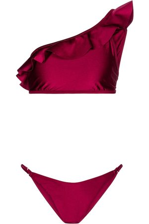 ZIMMERMANN Poppy one-shoulder bikini
