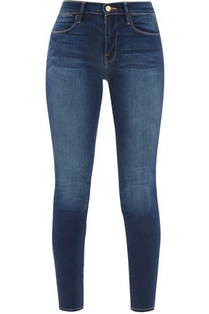 Frame Le High High-rise Skinny-leg Jeans - Womens - Denim