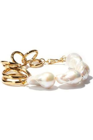 COMPLETEDWORKS Befuddled Baroque-pearl And Gold-vermeil Bracelet - Womens - Pearl