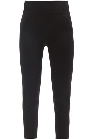 PRISM Women Leggings - Motion 3/4 High-rise Stretch-jersey Leggings - Womens