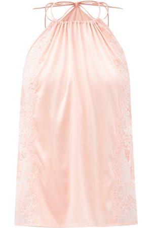 La Perla Exotique Halterneck Silk-blend Camisole - Womens