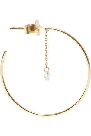 PERSÉE Women Hoop - Single earring Hoop 1 diamond