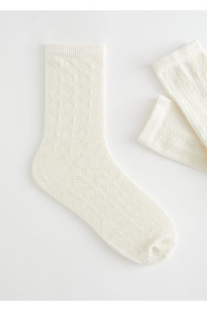 & OTHER STORIES Pointelle Ankle Socks Gift Box