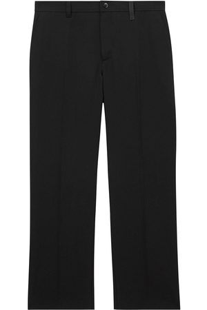 Burberry Cut-out wide-leg trousers