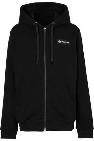 Burberry Men Hoodies - Vintage Check zipped hoodie