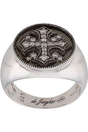 DE JAEGHER Women Rings - Crystal cross ring