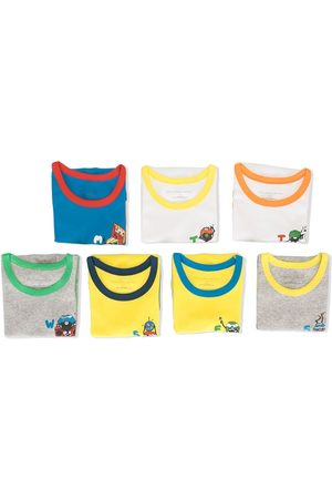 Stella McCartney Week day print shirts vests - Multicolour