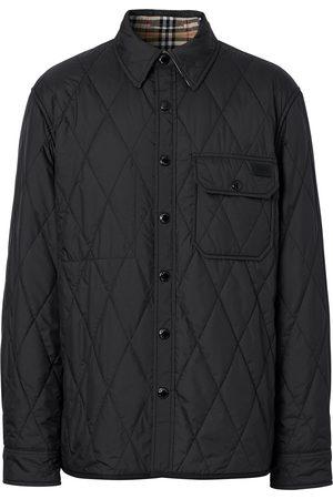 Burberry Men Jackets - Reversible Vintage-Check shirt jacket