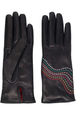 Paul Smith Swirl stitch gloves