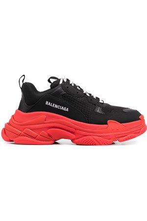 Balenciaga Triple S two-tone low-top sneakers