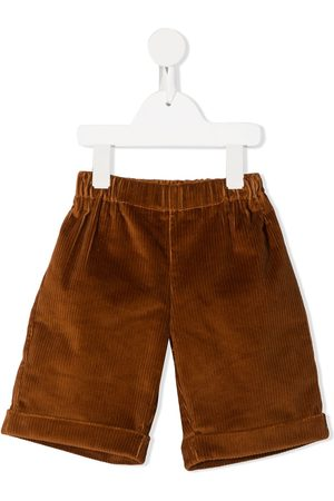LA STUPENDERIA Corduroy knee-length shorts