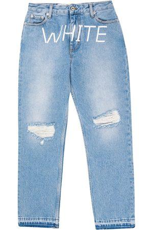 OFF-WHITE Women Straight - Straight-leg jeans