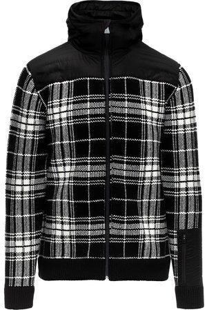 Aztech Larkspur check hoodie