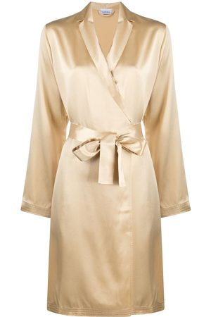 La Perla Wrap-around silk robe