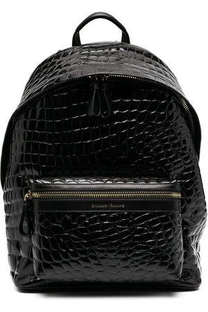 Giuliano Galiano Crocodile effect backpack