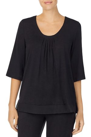 DKNY Chiffon Trim Sleep Top