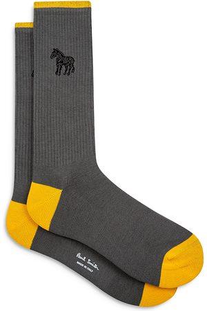 Paul Smith Paul Smith Zebra Emblem Crew Socks