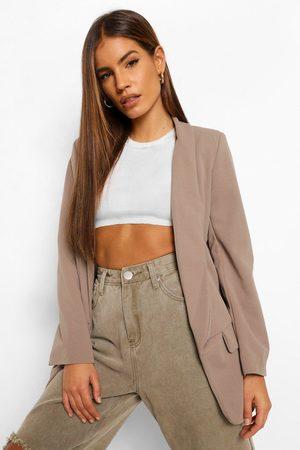Boohoo Womens Petite Tailored Blazer - - 2