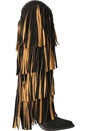 Dsquared2 Western boot with fringes