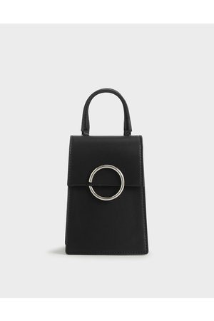 CHARLES & KEITH Ring Detail Elongated Bag
