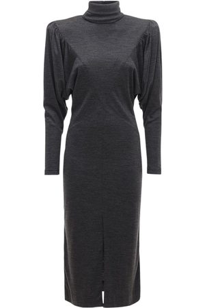 Isabel Marant Genia Jersey Midi Dress