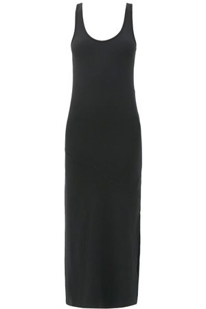 Another Tomorrow Scoop-neck Jersey Midi Dress - Womens