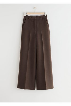 & OTHER STORIES Women Jeans - Relaxed Wide Press Crease Trousers
