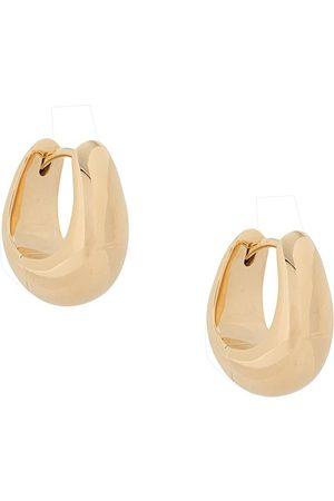 TOM WOOD Women Earrings - Small ice hoop earrings