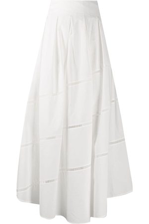 Brunello Cucinelli A-line cotton maxi skirt
