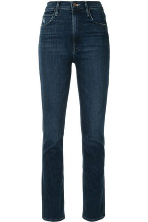 Mother Women High Waisted - The Dazzler Hover high-waisted slim-fit jeans