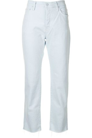 Mother Women High Waisted - High-rise cropped jeans