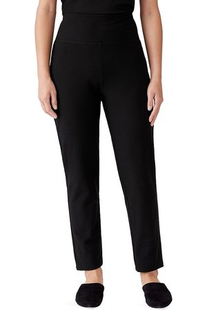 Eileen Fisher Women's High-Rise Slim Ankle Pants - - Size Small