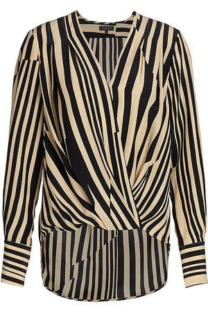 RAG&BONE Women's Lei Stripe Blouse - - Size Medium