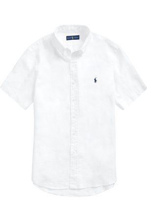 Polo Ralph Lauren Men Polo Shirts - Classic-Fit Short-Sleeve Linen Shirt