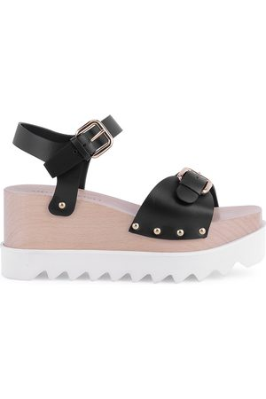 Stella McCartney Women's Elyse Platform Wedge Sandals - - Size 39.5 (9.5)