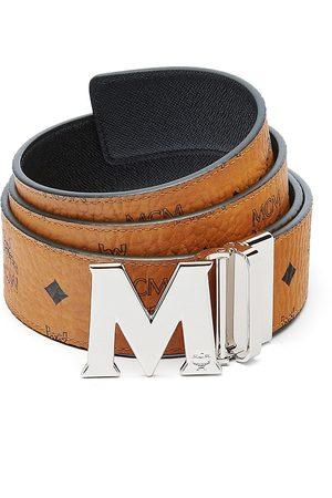 MCM Men Belts - M Reversible Belt in Logo Visetos