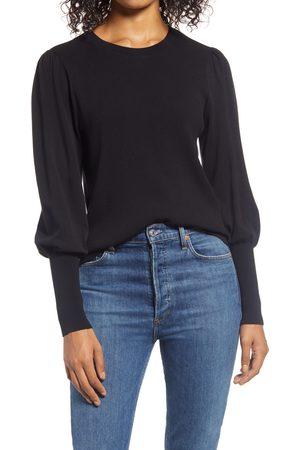 Halogen Women's Halogen Puff Sleeve Sweater
