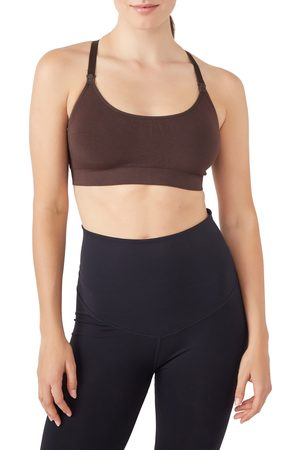 Modern Eternity Women's Seamless Yoga Nursing Bralette