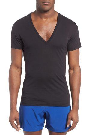 2Xist Men's 2(X)Ist Slim Fit Pima Cotton Deep V-Neck T-Shirt