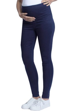 Angel Maternity Women's High Waist Deluxe Maternity Jeans