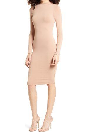 Naked Wardrobe Women's Nw Long Sleeve Dress