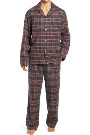 L.L.BEAN Men's Men's Scotch Plaid Flannel Pajamas