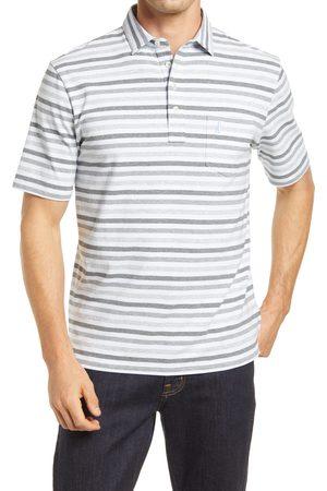 Johnnie-o Men's Hangin' Out Dalton Stripe Pocket Polo