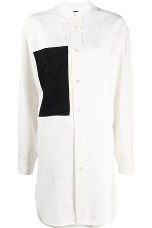 Colville Contrasting pocket long shirt